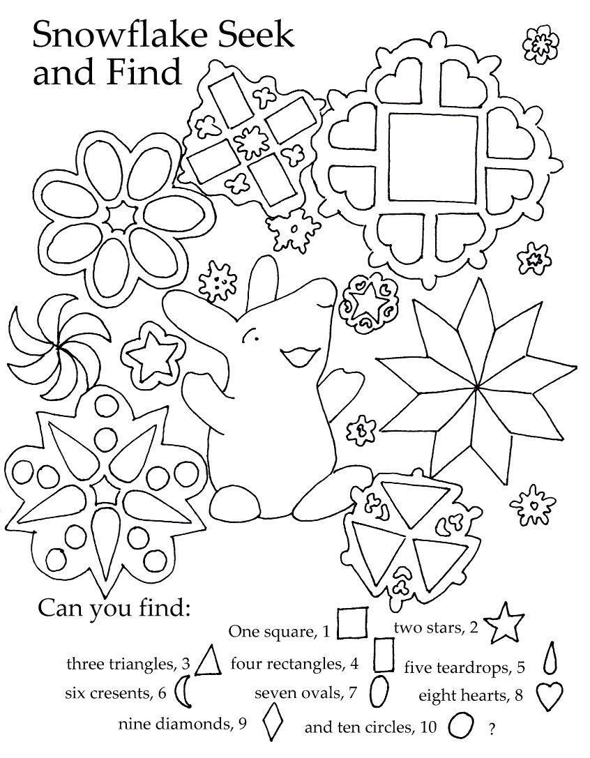 Seek And Finds | Printables For Preschool And Kindergarten | Free | Seek And Find Printable Worksheets