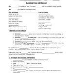 Self Esteem Worksheet   Google Search | Self Esteem/confidence | Self Esteem Building Worksheets Printable