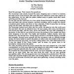 Seventh Grade Reading Worksheets | Englishlinx Board | Reading | Free Printable Middle School Reading Comprehension Worksheets