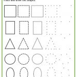 Shapes Worksheets For Preschool [Free Printables] – Mary Martha Mama | Printable Shapes Worksheets