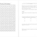 Sieve Of Eratosthenes Worksheet | The Prime Factorisation Of Me | Sieve Of Eratosthenes Worksheet Printable