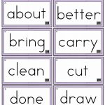 Sight Words Printables And Worksheets | A To Z Teacher Stuff | Free Printable Dolch Sight Words Worksheets
