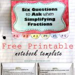 Simplifying Fractions Worksheet And Template | Free Printable Simplifying Fractions Worksheets
