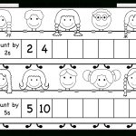 Skip Counting2 And 5 – Worksheet / Free Printable Worksheets | Counting In Twos Worksheet Printable