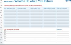 Business Worksheets Printables