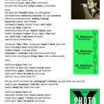"Song ""photograph""ed Sheeran Worksheet   Free Esl Printable 