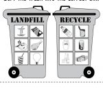 Sorting Trash   Earth Day Recycling Worksheets (4 Free Printable | Recycle Worksheets Printable