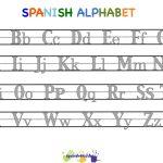 Spanish Alphabet Worksheets | Free Printables Worksheet   Free | Free Printable Spanish Alphabet Worksheets