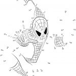 Spiderman Connect The Dots Printable Worksheets   Spiderman Worksheets Free Printables