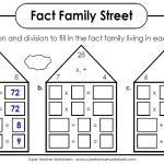 Splashtop Whiteboard Background Graphics   Free Printable Multiplication Division Fact Family Worksheets