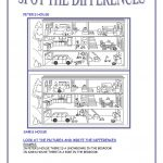 Spot The Differences Worksheet   Free Esl Printable Worksheets Made | Free Printable Spot The Difference Worksheets