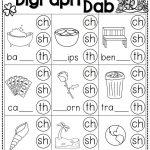 St. Patrick's Day Math And Literacy No Prep Freebie | Reading | Free Printable Ch Digraph Worksheets