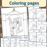Stations Of The Cross Coloring Pages   Drawn2Bcreative | Stations Of The Cross Printable Worksheets