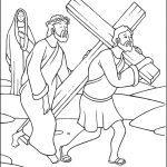 Stations Of The Cross Coloring Pages   The Catholic Kid | Stations Of The Cross Printable Worksheets