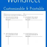 Stem And Leaf Plot Worksheet   Customizable And Printable | Math | Stem And Leaf Plot Printable Worksheets
