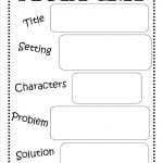 Story Map   Free Printable #reading #writing #kids | Ela | Story Map | Free Printable Story Elements Worksheets