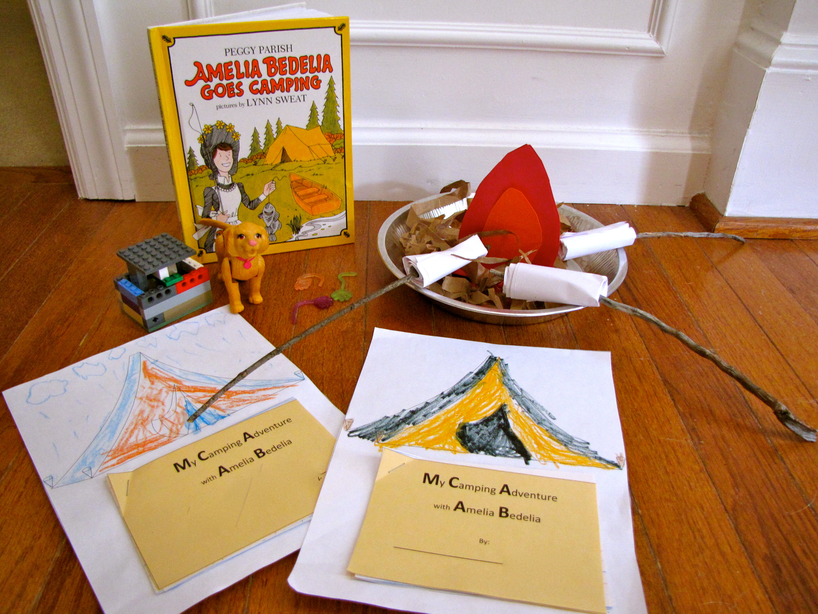 Summer Love Books Exchange: Amelia Bedelia Goes Camping | Creekside | Amelia Bedelia Printable Worksheets