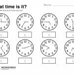 Telling Time Worksheets Grade 3 | Lostranquillos   Free Printable | Telling Time Worksheet Printable