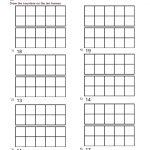 Tens Frames Worksheets Ten Frame Worksheet For Kindergarten 4 Q Free | Ten Frame Printable Worksheets