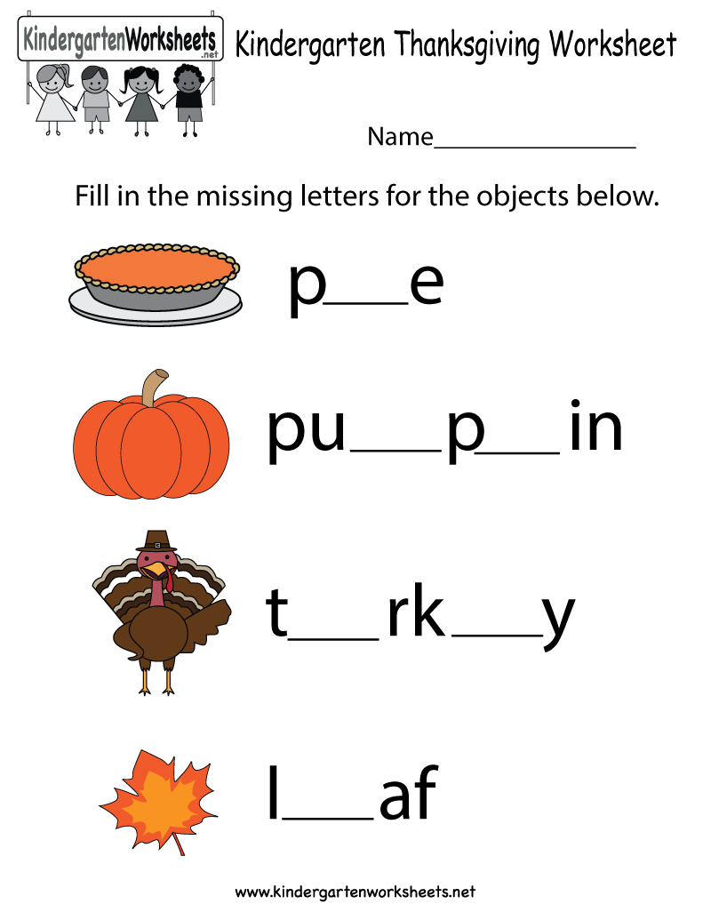 Thanksgiving Worksheets – Happy Easter & Thanksgiving 2018 | Free Printable Preschool Thanksgiving Worksheets