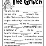 The Grinch Mad Lib | Woo! Jr. Kids Activities | Free Printable Grinch Worksheets