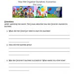 The Lorax   Economic Study Worksheet   Free Esl Printable Worksheets | Free Printable Economics Worksheets
