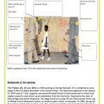 The Problem We All Live With   Ruby Bridges Worksheet   Free Esl | Ruby Bridges Printable Worksheets