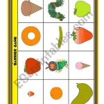 The Very Hungry Caterpillar Barrier Game   Esl Worksheetloangel | Printable Barrier Games Worksheets
