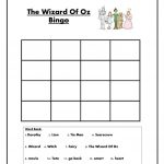 The Wizard Of Oz Bingo Worksheet   Free Esl Printable Worksheets | The Wizard Of Oz Printable Worksheets