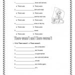There Was And There Were Worksheet   Free Esl Printable Worksheets | There Was There Were Printable Worksheets