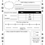 This Is A Number Of The Day Worksheet That My Colleague And I   Free | Free Printable Number Of The Day Worksheets