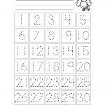 Trace The Numbers 1 30   Kiddo Shelter   Kids Worksheets Printable   Printable Number Tracing Worksheets For Kindergarten