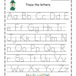 Traceable Alphabet Worksheets Camping | Kinder | Kindergarten | Traceable Abc Printable Worksheets