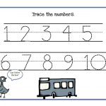 Traceable Numbers 1 10 Worksheets To Print | Kids Worksheets | Printable Worksheets For Preschoolers On Numbers 1 10