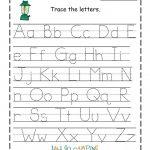 Tracing Alphabet Abc Printable   Schrijven   Kindergarten Worksheets   Childrens Printable Alphabet Worksheets