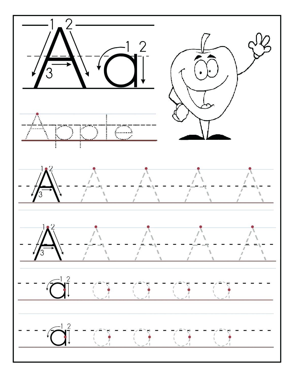 Tracing The Alphabet Printable – Cartofix.club | Printable Printing Worksheets