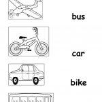 Transportation Worksheet   Free Esl Printable Worksheets Made | Free Printable Transportation Worksheets For Kids