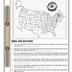 Travelling In The Usa Worksheet   Free Esl Printable Worksheets Made | Usa Worksheets Printables