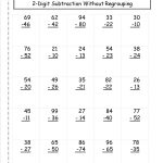 Two Digit Subtraction Worksheets   Free Printable Subtraction | Free Printable Subtraction Worksheets