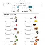 "Using ""a"" And ""an"" Worksheet   Free Esl Printable Worksheets Made 