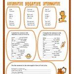 Verb To Be Worksheet   Free Esl Printable Worksheets Madeteachers | Verb To Be Worksheets Printable