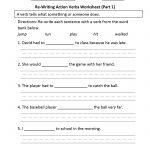 Verbs Worksheets | Action Verbs Worksheets | Free Printable Verb Worksheets