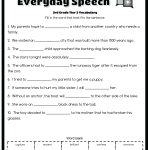 Vocabulary For 3Rd Grade Grade Its Or Its Worksheet Geometry | Free Printable Vocabulary Worksheets For 3Rd Grade