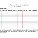 Volunteer+Hours+Log+Sheet+Template | Forms | Community Service Hours | Community Service Printable Worksheets