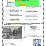 Was Were There Was There Were Worksheet   Free Esl Printable | There Was There Were Printable Worksheets