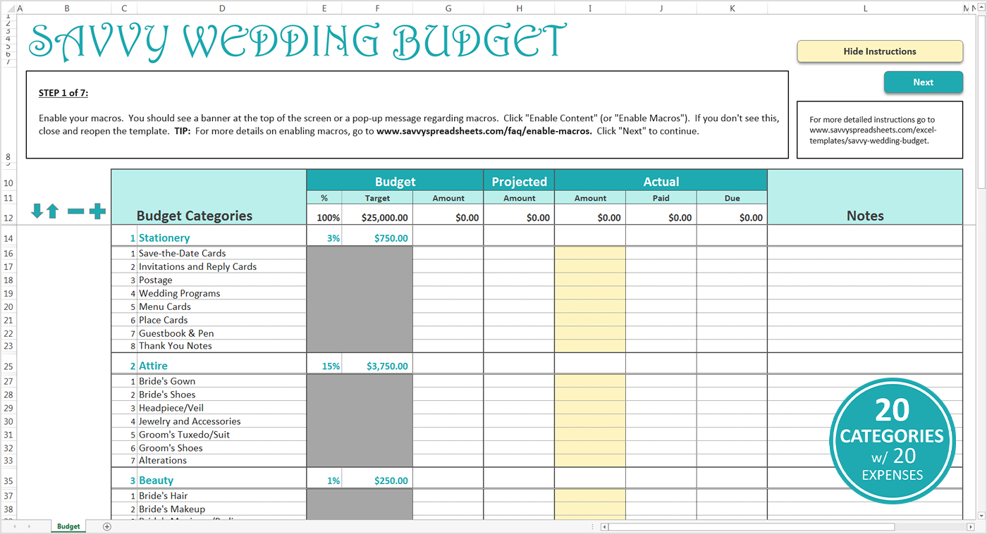 Wedding Budget Spreadsheet Uk Excel Australia Reddit Checklist Pdf | Wedding Budget Worksheet Printable