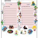 What Did You Do In Winter Holiday? Worksheet   Free Esl Printable   Winter Holidays Worksheets Printables