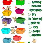 Where's The Dog   Prepositions Of Place Worksheet   Free Esl | Free Printable Worksheets For Prepositions