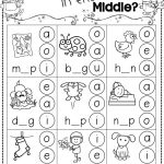 Winter Activities For Kindergarten Free | Kindergarten Literacy | Free Printable Phonics Worksheets