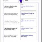 Word Problems   Third Grade Math Word Problems Printable Worksheets